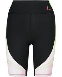 Nike Jordan Heatwave Printed Biker Shorts - Black