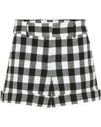 Veronica Beard Shorts Carito aus Baumwolle - Schwarz
