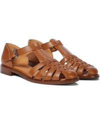 Church's Kelsey Leather Sandals - Brown
