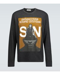 Undercover Sound System Printed Sweatshirt - Grey
