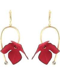 Marni - Floral Earrings - Lyst