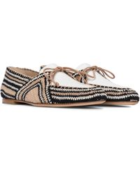 Gabriela Hearst Hays Crochet Loafers - White