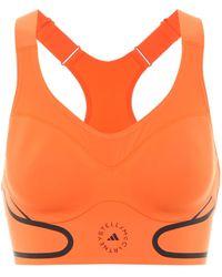 adidas By Stella McCartney Sujetador deportivo TruePace - Naranja