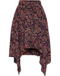 Proenza Schouler Paisley Handkerchief-hem Skirt - Multicolour