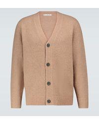 Acne Studios Cárdigan Kabelo de mezcla de lana - Marrón