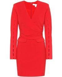 Jonathan Simkhai Vestido de mangas recortadas - Rojo