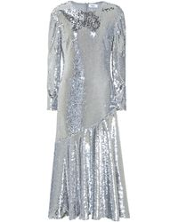 Racil Sequined Dress - Metallic