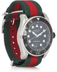 Gucci Reloj Dive XL - Negro