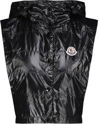 Moncler Cropped Down Vest - Black