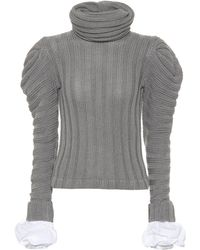 Johanna Ortiz - Countess Of Greystoke Cotton-blend Sweater - Lyst