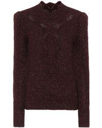 Isabel Marant - Elea Alpaca-blend Sweater - Lyst