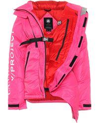 Y. Project X Canada Goose Daunenjacke Twisted Skreslet - Pink