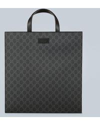 Gucci Cabas GG Supreme souple - Noir