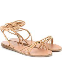 Ancient Greek Sandals Persida Leather Sandals - Natural