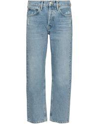 Agolde - Jeans regular Parker a vita alta - Lyst