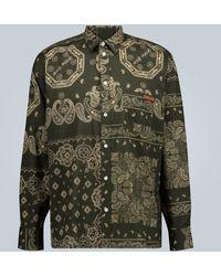 Golden Goose Deluxe Brand - Houston Bandana Printed Shirt - Lyst