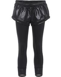 adidas By Stella McCartney Leggings Shorts Over Tight - Schwarz
