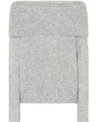 Vince - Pullover off-the-shoulder in alpaca - Lyst