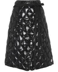 Moncler - Quilted Down Skirt - Lyst