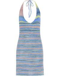 Jacquemus Minikleid La Robe Tropea - Blau