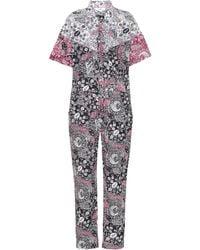 Étoile Isabel Marant Jumpsuit Udena a stampa in cotone - Multicolore