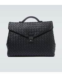 Bottega Veneta - Porte-documents en cuir Intrecciato - Lyst