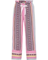 lemlem Luchia Cotton-blend Trousers - Multicolour