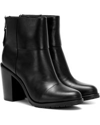 Rag & Bone Newbury 2.0 Leather Ankle Boots - Black