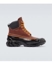 Burberry Arthur Hiking Boots - Brown