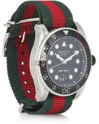 Gucci Uhr Dive 45mm - Schwarz
