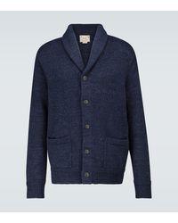 Polo Ralph Lauren Cardigan aus Baumwolle - Blau