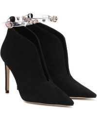 Sophia Webster - Bottines Dina en daim - Lyst