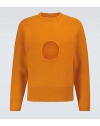 Craig Green Pullover Hole aus Wolle - Orange