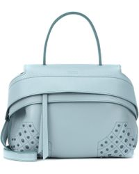 e37d26e48c3 Tod's - Wave Small Leather Tote - Lyst