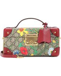 Gucci Padlock GG Flora Case - Multicolour