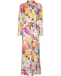 Etro Floral Shirt Dress - Multicolor