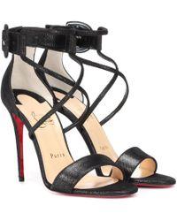 chaussures de sport d5513 682a6 Sandales en daim Choca 100 - Noir
