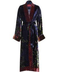 F.R.S For Restless Sleepers - Nomos Velvet Dress - Lyst