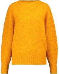 Étoile Isabel Marant Jersey Halden mezcla de lana merino - Amarillo