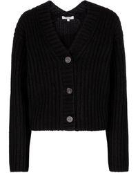 Vince Cardigan en laine et cachemire - Noir