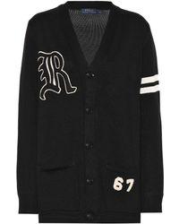 Polo Ralph Lauren - Cotton V-neck Cardigan - Lyst