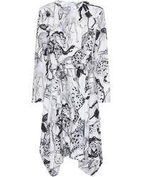 Stella McCartney Kalyn Printed Silk Midi Dress - Multicolour
