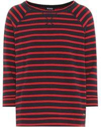 Woolrich - Striped Cotton Jumper - Lyst