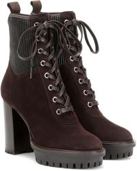 Gianvito Rossi Ankle Boots Martis 70 - Braun