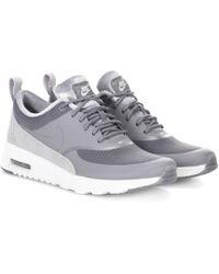 Nike - Sneakers Air Max Thea aus Leder und Samt - Lyst