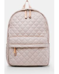 MZ Wallace Quilted Mushroom City Backpack