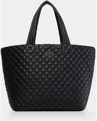 MZ Wallace Quilted Black Large Metro Tote