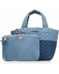 MZ Wallace - Pacific And Cloud Oxford Large Metro Tote - Lyst