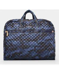 MZ Wallace Michael Garment Bag - Blue