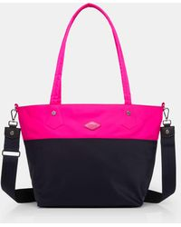MZ Wallace - Punch And Dawn Colorblock Soho Tote - Lyst